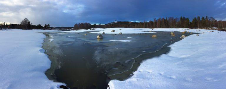 Nya Myrans våtmark börjar fyllas på