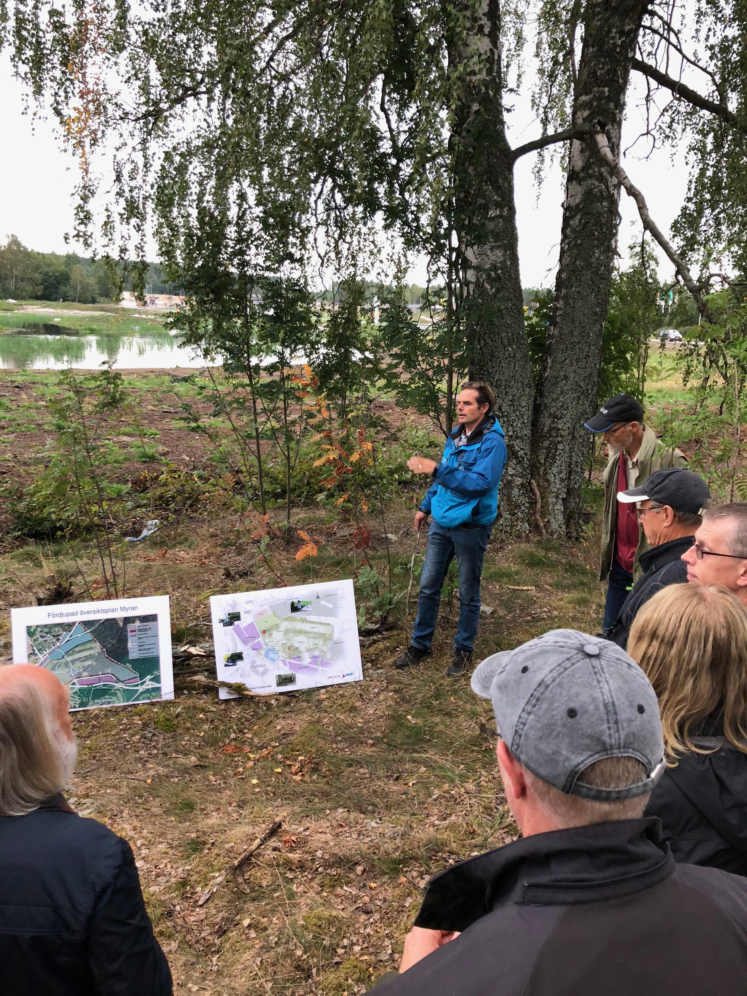 Myrans våtmark med Thomas Jågas.